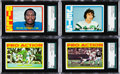 Football Cards:Sets, 1972 Topps Football Complete Low/Middle Series (263)....