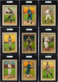 Baseball Cards:Lots, 1910-11 T3 Turkey Red Baseball SGC Graded Collection (18). ...
