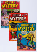 Golden Age (1938-1955):Horror, House of Mystery #8-10 Group (DC, 1952-53).... (Total: 3 ComicBooks)