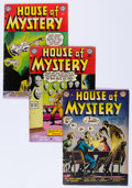 Golden Age (1938-1955):Horror, House of Mystery Group (DC, 1953-54).... (Total: 10 Comic Books)