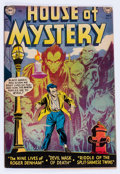 Golden Age (1938-1955):Horror, House of Mystery #7 (DC, 1952) Condition: VG/FN....