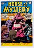 Golden Age (1938-1955):Horror, House of Mystery #6 (DC, 1952) Condition: FN/VF....