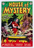 Golden Age (1938-1955):Horror, House of Mystery #5 (DC, 1952) Condition: VG+....