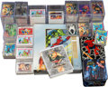 Memorabilia:Trading Cards, Marvel and Disney Related Trading Cards Short Box Group (VariousPublishers, 1990s)....