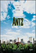 """Movie Posters:Animated, Antz (DreamWorks, 1998). One Sheets (2) (27"""" X 40"""") DS Advances.Animated.. ... (Total: 2 Items)"""