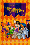 """Movie Posters:Animation, The Hunchback of Notre Dame & Other Lot (Buena Vista, 1996). One Sheets (2) (27"""" X 40"""") DS Regular & Advance. Animation.. ... (Total: 2 Items)"""