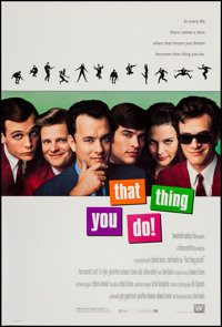 """That Thing You Do! & Others Lot (20th Century Fox, 1996). One Sheets (3) (26.75"""" X 39.75"""" & 27"""" X..."""