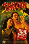 "Movie Posters:Adventure, Tarzan Adventures (American Movie Classics, 1997). Television OneSheet (27"" X 41""). Adventure.. ..."