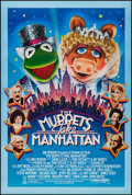 """Movie Posters:Comedy, The Muppets Take Manhattan & Others Lot (Tri-Star, 1984). One Sheets (3) (27"""" X 40"""") SS & DS. Comedy.. ... (Total: 3 Items)"""