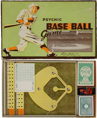 1935 Parker Brothers Psychic Baseball Board Game