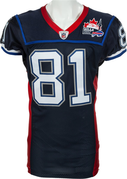 new product 768fb 970d6 2009 Terrell Owens Game Issued Buffalo Bills Jersey - Worn ...