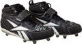 """Football Collectibles:Others, 2010 Peyton Manning Game Worn Super Bowl XLIV Cleats Signed """"Game Used."""" ..."""