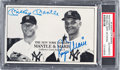Baseball Collectibles:Others, Early 1980's Mickey Mantle & Roger Maris Signed PhotographicCard....