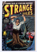 Golden Age (1938-1955):Horror, Strange Tales #32 (Atlas, 1954) Condition: VG/FN....