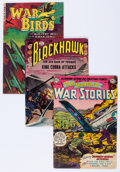 Golden Age (1938-1955):War, Golden Age War Related Comics Group (Various Publishers, 1952-53) Condition: Average VG-.... (Total: 11 Comic Books)