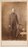 Photography:CDVs, Union Brigadier General William Hervey Lamme Wallace, Mortally Wounded at Shiloh, Carte de Visite....