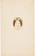 Photography:CDVs, Jennie [also Ginnie] Wade, the Only Civilian Killed at the Battle of Gettysburg Carte de Visite....