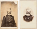Photography:CDVs, Union Brevet Major General Henry Baxter Pair of Cartes de Visite....