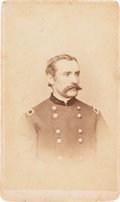Photography:CDVs, Union Brigadier General Joseph Hayes Signed Carte de Visite....