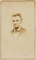 Photography:CDVs, Abraham Lincoln Carte de Visite, Photographed by Alex Gardner in 1865....