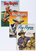 Golden Age (1938-1955):Western, Roy Rogers Comics Group (Dell, 1949-57) Condition: AverageVG/FN.... (Total: 57 Comic Books)