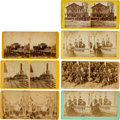 Photography:Stereo Cards, Ulysses S. Grant and Traveling Party Stereoviews (Seven)....