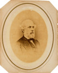Photography:Cabinet Photos, Robert E. Lee Large Oval Albumen by Brady & Co....