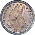 Seated Quarters, 1878-S 25C MS66 PCGS. Briggs 1-A....