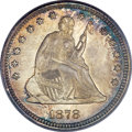 Seated Quarters, 1878 25C MS66 PCGS. ...