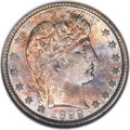 Barber Quarters, 1899-S 25C MS67 NGC....
