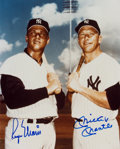 Autographs:Photos, Circa 1980 Mickey Mantle & Roger Maris Signed Photograph....
