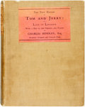 Books:Literature Pre-1900, Charles Hindley. The True History of Tom and Jerry; or, the Dayand Night Scenes, of Life in London from the Start to th...
