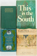 Books:Americana & American History, [Southern U.S.]. Group of Four Books on the South or SouthernStates. Various publishers, 1903-1959. Includes one first edit...(Total: 4 Items)