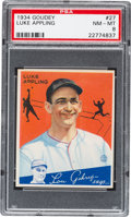 Baseball Cards:Singles (1930-1939), 1934 Goudey Luke Appling #27 PSA NM-MT 8....