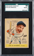 Baseball Cards:Singles (1930-1939), 1938 Goudey Joe DiMaggio #274 SGC 88 NM/MT 8....