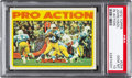 Football Cards:Singles (1970-Now), 1972 Topps John Hadl IA #254 PSA Gem Mint 10 - Pop Three....