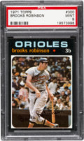 Baseball Cards:Singles (1970-Now), 1971 Topps Brooks Robinson #300 PSA Mint 9 - None Higher. ...