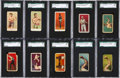 "Boxing Cards:General, 1910 - 1911 ""E"" Caramel Boxing Cards Collection (26) With Raritiesand Print Errors. ..."