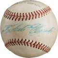 Autographs:Baseballs, Circa 1970 Roberto Clemente Single Signed Baseball....