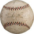 Autographs:Baseballs, 1925-26 New York Yankees Team Signed Baseball....