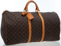 Luxury Accessories:Bags, Louis Vuitton Classic Monogram Canvas Keepall 60 Bag. ...