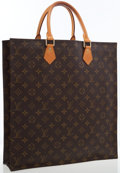 Luxury Accessories:Accessories, Louis Vuitton Classic Monogram Canvas Sac Plat Tote Bag . ...