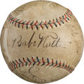 Autographs:Baseballs, 1931-32 New York Yankees Partial Team Signed Baseball, PSA/DNAEX-MT 6.5....