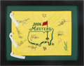 Autographs:Others, 2006 Masters Signed Golf Flag. ...