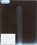 Baseball Collectibles:Bats, 1985 Pete Rose Bat X-Ray Proving He Corked During Record-Breaking Season....