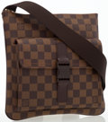 Luxury Accessories:Bags, Louis Vuitton Damier Ebene Canvas Melville Pochette Crossbody Bag....