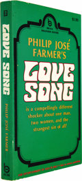 Books:Fiction, Philip Jose Farmer: First Edition Paperback of Love Song(North Hollywood, California: Brandon House, 1970), first editi...(Total: 1 Item)