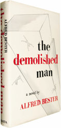 Books:Fiction, Alfred Bester: The Demolished Man (Chicago: ShastaPublishers, 1953), first edition, jacket design by MartinHerbstman, ... (Total: 1 Item)