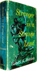 "Books:Fiction, Robert A. Heinlein: Stranger in a Strange Land (New York:G.P. Putnam's Sons, 1961), first edition, first printing (""C22...(Total: 1 Item)"