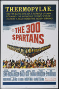 "Movie Posters:Adventure, The 300 Spartans (20th Century Fox, 1962). One Sheet (27"" X 41"").Adventure. Directed by Rudolph Maté. Starring Richard Egan..."